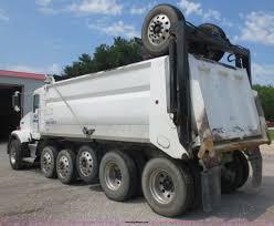 kenworth super truck 2004 kenworth t800b super 18 dump truck item d5980 sold