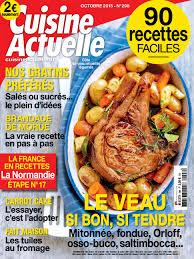 magazine cuisine actuelle cuisine actuelle n 298 octobre 2015 telecharger des magazines