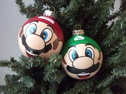 luigi painted holiday ornament on storenvy
