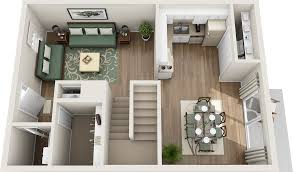 Three Bedroom House Plans Three Bedroom Floor Plans Northfield Lodge Apartments