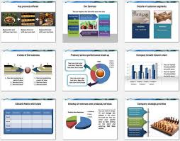powerpoint template business product overview presentation product