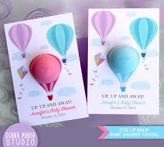 lip balm favors eos lip balm air balloon baby shower favors eos lip balm