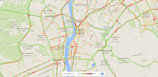 traffic map map activates traffic feature in and