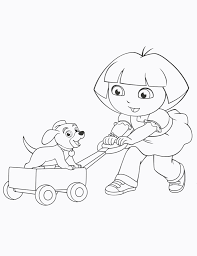 coloring pages free coloring pages of dora the explorer map dora