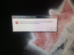 error 0xc0000005 while starting a game