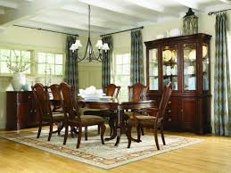 9 Pc Dining Room Set by Legacy Classic American Traditions Pedestal Table Dining Set By