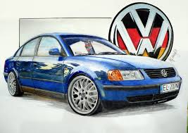 volkswagen drawing volkswagen passat b5 drawing by hary1908 on deviantart