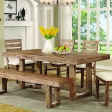 coaster 105541 elmwood rustic inchu inch base dining table