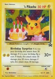 pokemon birthday cards pokemon birthday card template