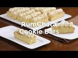 rumchata cookie bars youtube
