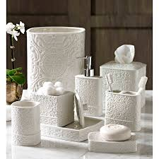 scroll bath accessory collection bathroom accessories sets