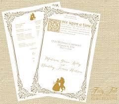 design your own wedding program your own wedding program