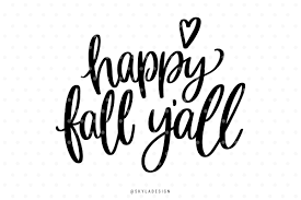 martini svg happy fall y u0027all svg hand lettered quote by skyladesign