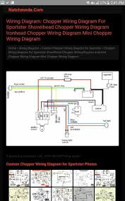 simple wiring diagram for my 87 aporty chopper the sportster