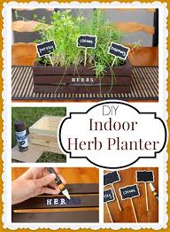 diy indoor herb planter cooking with ruthie