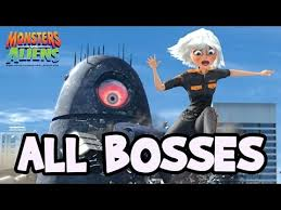 monsters aliens bosses final boss ps3 x360 wii ps2