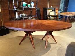 mid century modern dining room tables with inspiration image 6670