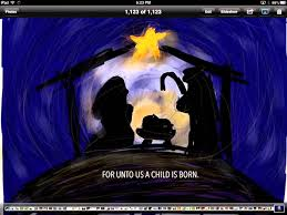 merry for unto us a child is born