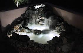 Low Voltage Submersible Lights In Ponds Concrete  Masonry News - Pond lights home depot