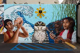 school of art wall pow wow hawaiipow wow hawaii school of art