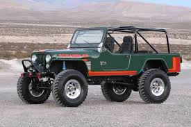 first jeep ever made diesel jeep an u201call new u201d cj8 scrambler