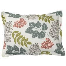 bed of leaves flannel duvet cover sham u2013 goodglance