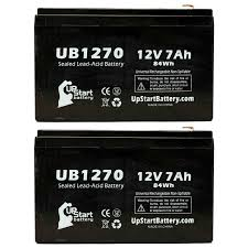 2 pack apc smart ups 1500 2200 1000 battery ub1270 12v 7ah sealed
