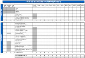plan comptable fourniture de bureau le plan de trésorerie mensuelle