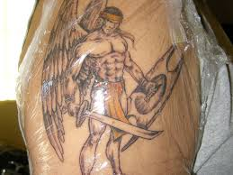angel with sword tattoos for men 2 tattoos book 65 000 tattoos