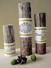 wood tea light candle holder print your name photos customized