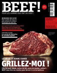 livre de cuisine pour homme beef un nouveau magazine pour les hommes qui ont du goût