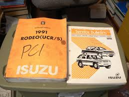 28 1991 isuzu rodeo repair manual 42547 american motors