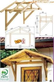 Building Awning Over Door How To Build A Small Portico Going To Obsess On This Idea For
