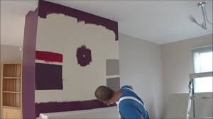 Feature Wall by Painting A Feature Wall Youtube