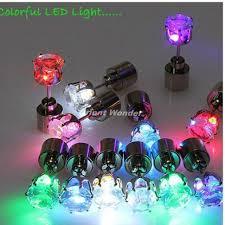led earrings online shop 400pcs lot shiny glowing led earrings colourful