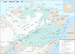 Canada National Parks Map by File Quttinirpaaq National Park Map Fr Svg Wikimedia Commons