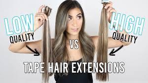 cheap extensions cheap vs high quality hair extensions the zala hair