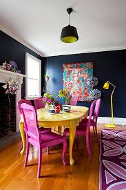 colorful dining table thrifty dining room makeover thrift store finds and
