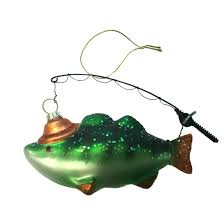 glass fishing ornament wondershop target