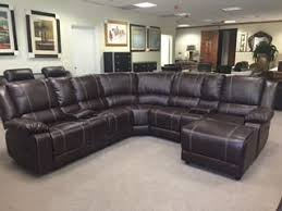Recliner And Chaise Sofa by Ufe Robinson Sectional Sofa With Recliner Chaise Console W Cup