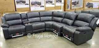 pulaski leather sofa costco costco pulaski furniture leather power reclining sectional