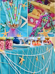 the sea party and mermaids birthday party ideas mermaid birthday