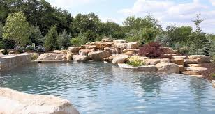 Landscaping Around A Pool by Pool Construction Millcreek Design Kutztown Pa