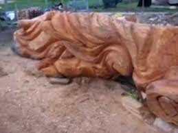 large wood sculpture large cedar wood sculptures all work in progress