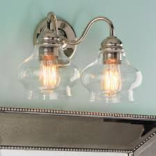 glass shades for vanity lights exciting vanity light replacement glass shades 1 5 8 center hole and