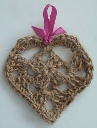 free pattern u2013 shabby chic twine heart keep calm and crochet on u k