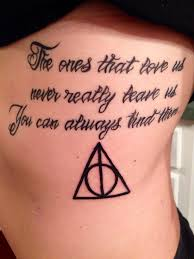 my sirius black quote with the deathly hallows symbol