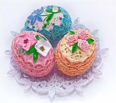 Easter Egg Decorating On Paper by Easter Eggs In Retro Style Recycled Crafts Easter Eggs
