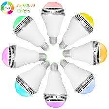 wifi smart led lighting series music alarm group wifi led bulb
