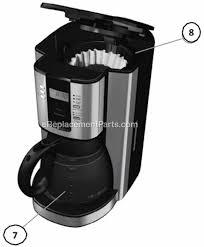 Mr Coffee BVMC TJX37 Parts List and Diagram eReplacementParts
